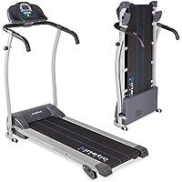 Preisvergleich für Kinetic Sports Laufband KST3000 Professional, 1100 Watt Leistung, 12 Trainingsprogramme, integrierte Lautsprecher, Geschwindigkeit bis 12 km/h