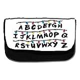 Astuccio con alfabeto, design Stranger Things - Astuccio per la scuola o per il trucco
