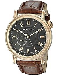 Akribos XXIV Reloj con movimiento cuarzo suizo   45 mm