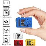 Bescita WiFi MQ8 Mini Kamera 1080P HD Mini WiFi Wireless Nanny Cam Mini Home Security Kamera Überwachungs-Kamera mit Nachtsicht und Bewegungserkennung (Blue)