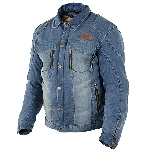 Preisvergleich Produktbild Trilobite Parado,  Motorradjacke,  Herren-Denim-Jacke