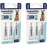 Parasital Pipetas Antiparasitarias para Perros Medianos de 10 a 25 kg - Pack de 6x2,