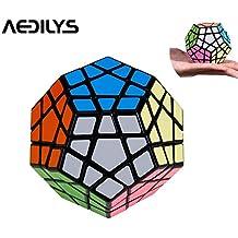 Megaminx - Puzle cúbico de 12 capas de colores multicolor