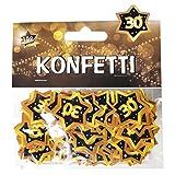 Deko 40. Geburtstag Streudeko Stern mit Zahl 40 Tischkonfetti Konfetti Streuteile für Tischdeko zum 40.Geburtstag Party ect.