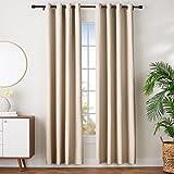 AmazonBasics - Juego de cortinas que no dejan pasar la luz