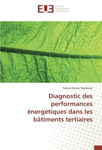 Diagnostic des performances énergétiques dans les bâtiments tertiaires par Fabrice Kenko Noubissie