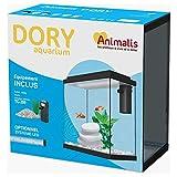 Animalis Aquarium Dory Équipé Blanc 10L