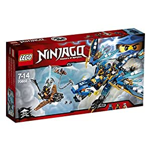 LEGO - 70602 - NINJAGO - Jeu de Construction - Le dragon élémentaire de Jay