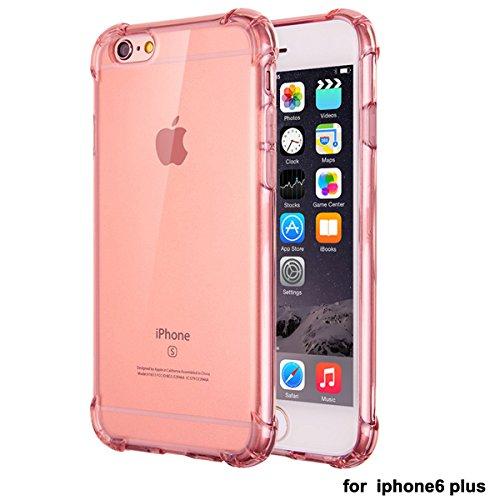 """xhorizon Transparente Handyhülle für iPhone 6 Plus / iPhone 6S Plus (5.5"""") mit Hartplastik und weicher TPU Gel zum Schutz vor Stößen #5"""