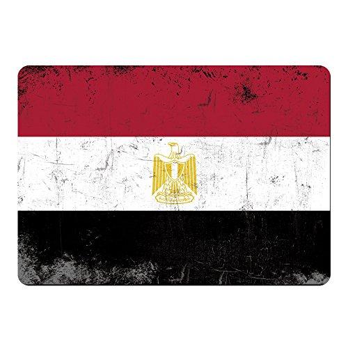 Mousepad Fahne Retro Ägypten farbig