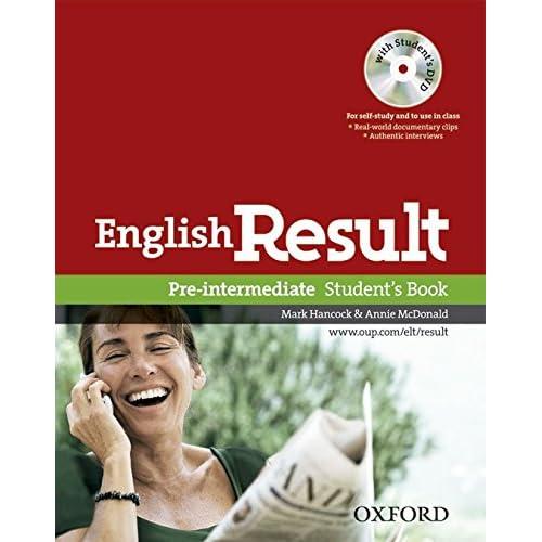 English Result - Pre Intermediate : Student's Book (1DVD)