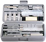29 tlg modellers Werkzeug, umfangreiche Werkzeugbestückung, die kann verwendet werden, um modellers, craftworkers woodcarvers, etc., verpackt im blasgeformten Aufbewahrungskoffer mit Displayhülle.