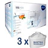 Brita Optimax Wasserfilterkanne weiß incl. 3 MAXTRA Filter