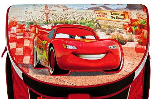 Undercover CAGR7293 Kindergartentasche, Disney Pixar Cars, ca. 21 x 22 x 8 cm Schulranzen Set Campus Up, 6 teilig