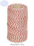 Carrete de cuerda baker - 100 % algodón - 50 m - Terracota, usado segunda mano  Se entrega en toda España