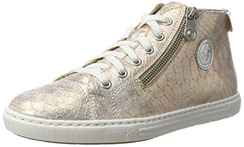 Rieker Damen L0934 High-Top, Mehrfarbig (Rose/Argento/31), 40 EU (High-top-rose)