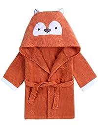 URBEAR Toalla de baño para 100% algodón Pijamas Con Capucha De Baño Para recién nacidos y bebés 1 – 3 años