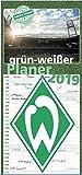 gr�n-wei�er Planer 2019 Bild