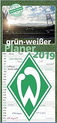 grün-weißer Planer 2019