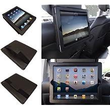 SD Tabletwear 5060263024088 - Funda para iPad 2 y iPad 3 con soporte para reposacabezas de coche, color negro