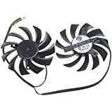 Doble ventilador de la CPU MSI GTX 560 570 R6950 Video Card Dual CPU Fan PLD08010S12HH