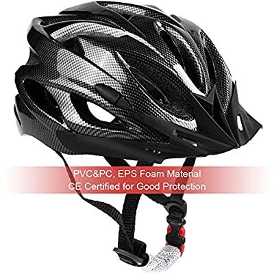 Zacro Bike Cycle Bicycling Helmet 54-62cm Lightweight Skate Road Cycling Racing Helmet Specialized for Mens Womens Kids Boys Girls Safety Protection CPSC & CE Certified Road Helmet with Sport Headband by Zacro