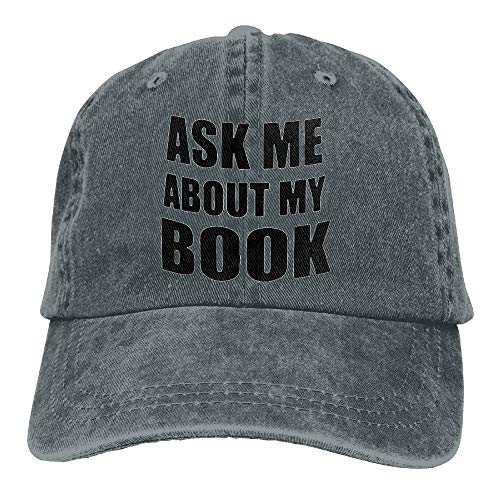 My Book Vintage Jeans Baseball Cap for Men and Women ()
