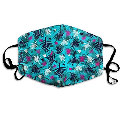 Vidmkeo Unisex Staubmaske Tropische Hawaiianische Blume Mundmaske Gesicht Kleidung Anti Verschmutzung Outdoor Maske Aktivitäten Warme Winddicht Gesichtsmasken Unisex8 - Hawaiianischen Gesicht