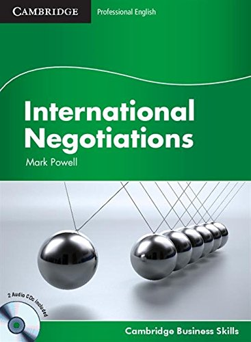 International Negotiations Student's Book with Audio CDs (2) (Cambridge Business Skills)