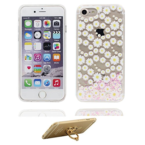 "iPhone 6S Coque, Skin Hard Clear étui iPhone 6 / 6S, Sirène- Design Glitter Bling Sparkles Shinny Flowing iPhone 6 Case Shell 4.7"", résistant aux chocs et ring Support # 2"