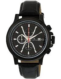 Maxima Attivo Chronograph Black Dial Men -27721LMGB