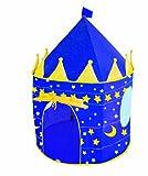 roba Spielzelt, Kinderzelt 'Mond und Sterne', Spielhaus aus Stoff, inkl, Tasche