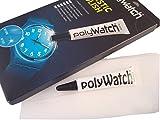 Polywatch & Tuch Polieren Kit–Armbanduhr Kristall Kratzer Entferner