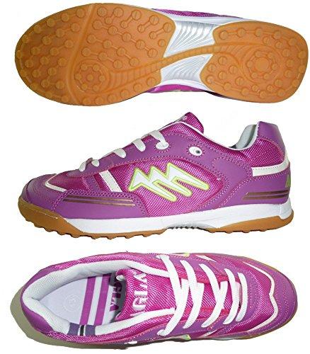 AGLA PROFESSIONAL CONDOR LIGHT OUTDOOR scarpe calcetto futsal con anti-shock Fucsia
