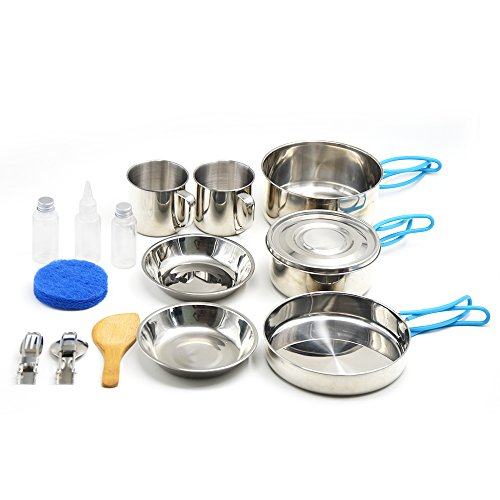 Outdoor Cookware, Stainless Stee...