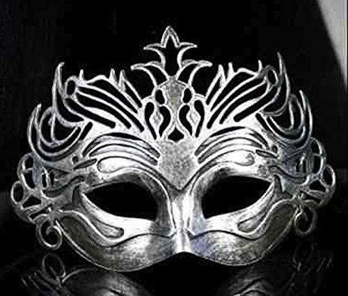 The Rubber Plantation Römische Filigran-Maske, venezianische Maske für Erwachsene, 619219290234 (Kostüm Römischen Zubehör Erwachsenen)