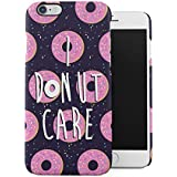 I Donut Care Donuts Pattern Print Apple iPhone 6 / iPhone 6S Snap-On Hard Plastic Protective Shell Case Cover Carcasa