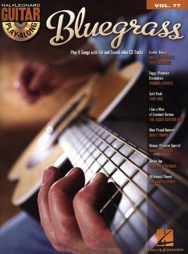Guitar Play-Along Volume 77: Bluegrass. Partitions, CD pour Tablature Guitare