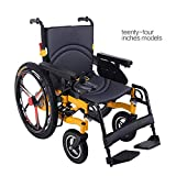 Silla de ruedas eléctrica inteligente completa de la aleación de aluminio, vespa lisiada mayor, silla de ruedas eléctrica de cuatro ruedas, paciente anciano herido, silla de ruedas plegable ligera