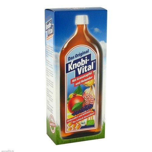 Knobivital mit Granatapfel+Holunder Bio, 960 ml