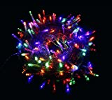 Proxima Direct 100/200/300/400/500 LED String Fairy Lights for Christmas Tree Party Wedding Events Garden (8 Lighting Modes, memory function) - Top Quality (Multi Color, 100 LED)