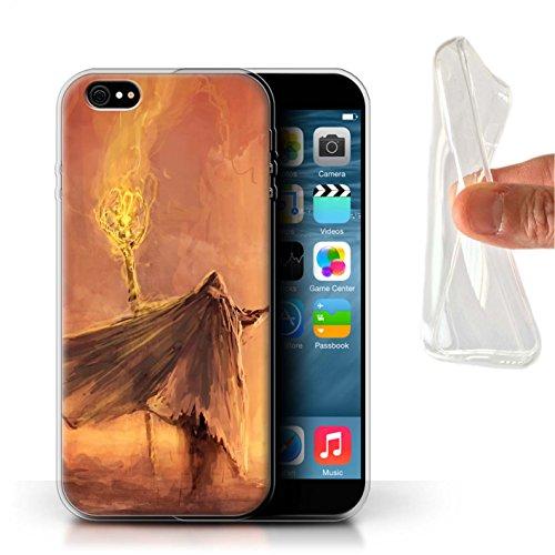 Offiziell Chris Cold Hülle / Gel TPU Case für Apple iPhone 6S+/Plus / Ghouls der Furcht Muster / Dämonisches Tier Kollektion Kriegsheld/Warlock