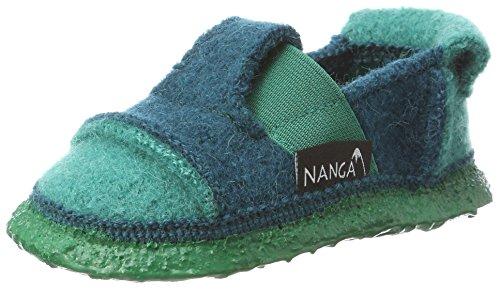 Nanga Unisex-Kinder Berg Niedrige Hausschuhe, (Türkis 95), 26 EU