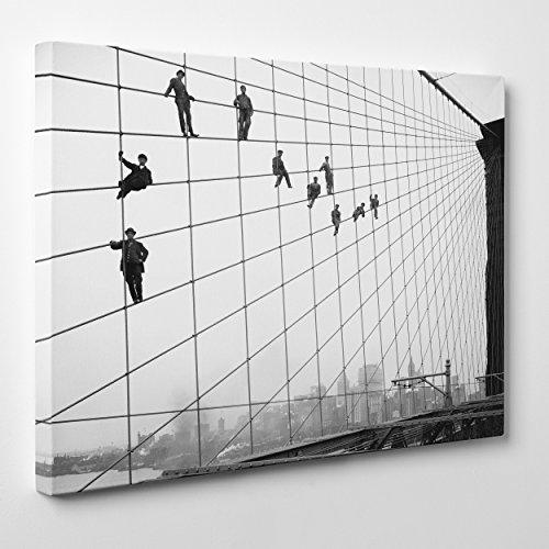quadro-su-tela-canvas-intelaiato-pronto-da-appendere-ponte-di-brooklyn-new-york-ny-operai-al-lavoro-