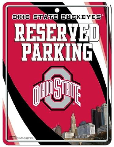 NCAA Ohio State Buckeyes Hi-Res Metal Parking Sign
