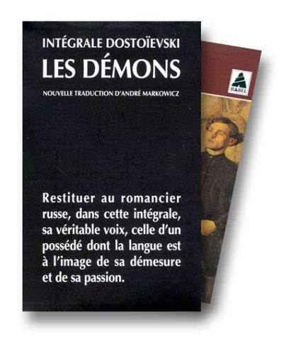 Les Démons, coffret 3 volumes