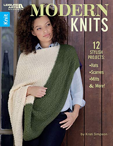 Modern Knits: 12 Stylish Knit Projects: Hats, Scarves, Mitts, & More! (English Edition) - Cable Knit Mitt