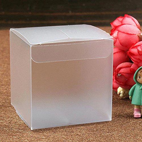 etbotu Paper24Cristal Mate plástico Cajas para bodas fijo regalo bevorzugung 150PCS