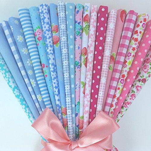 20-piece-polycotton-bundle-of-shabby-chic-soft-blues-pink-fabrics-25cm-x-25cm