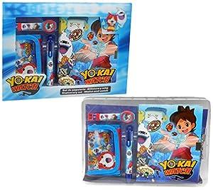 Disney Yo-Kai - Juego de papelería lenticular Watch, YK17013